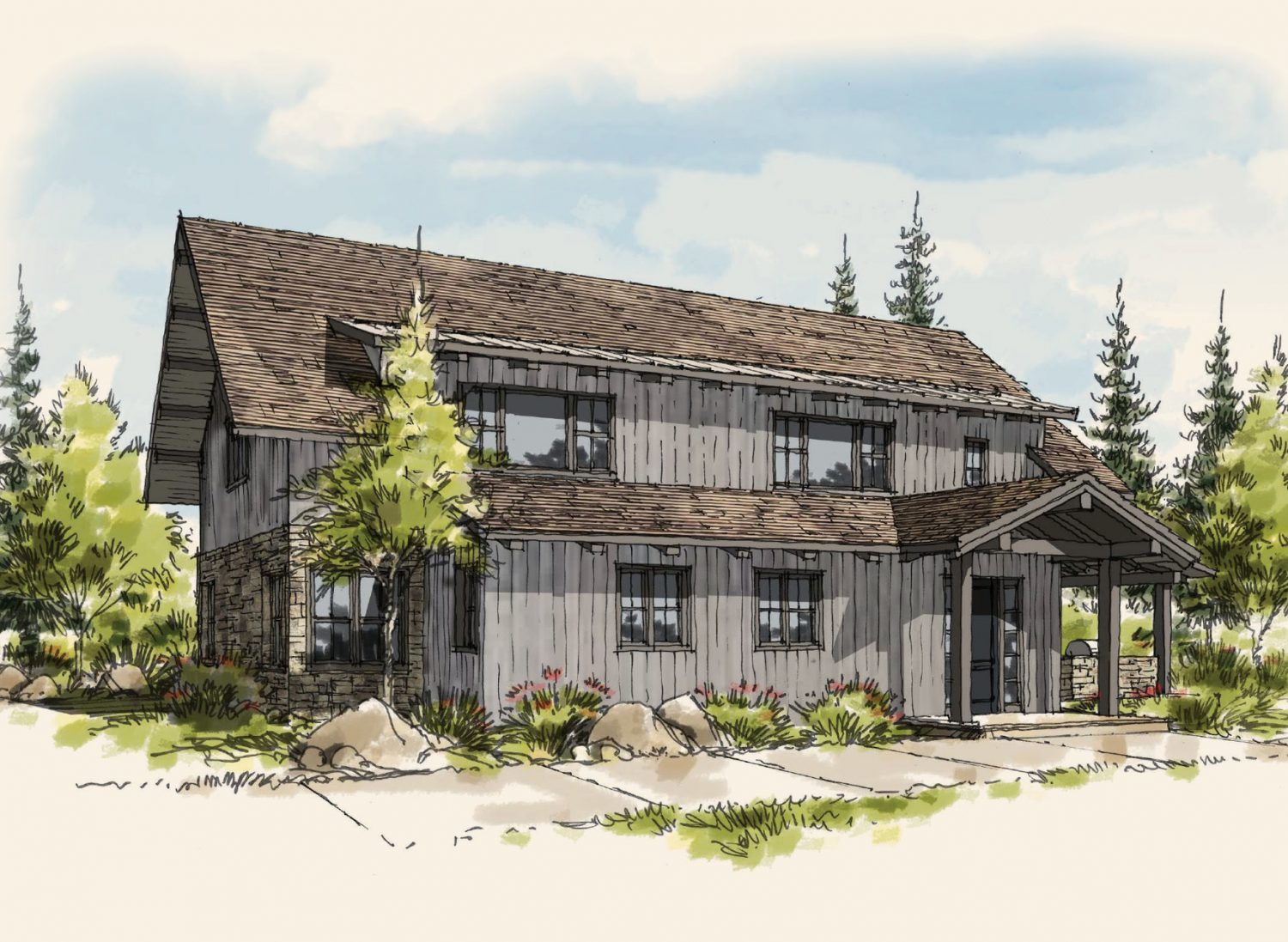 Homestead Cottages – Gozzer Ranch Golf & Lake Club